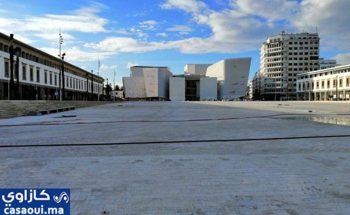 """صورة كازاوي : المسرح الكبير للدار البيضاء يزيل """" الجبيرة """""""