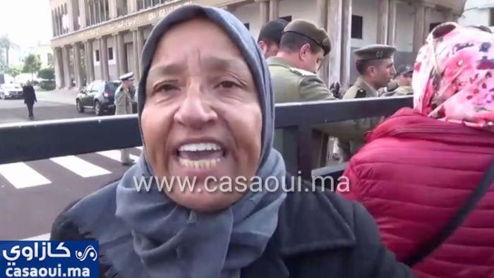 فيديو … الاقتطاعات الشهرية تغضب موظفي الجماعات المحلية و تخرجهم للاحتجاج
