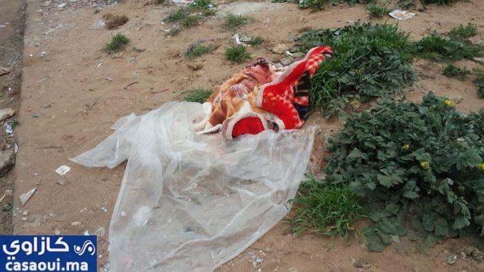 عاجل … فيديو … العثور على جثة قرب سوق لعيون ببنمسيك