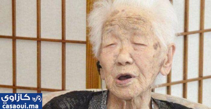 """يابانية تدخل """"غينيس"""" كأكبر معمرة في العالم"""