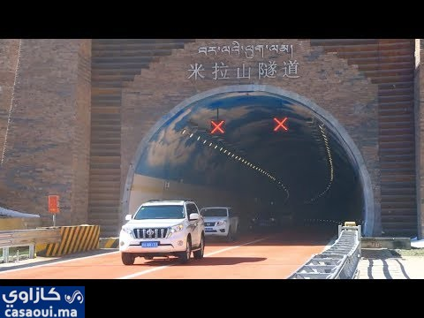 افتتاح أعلى نفق طريق سريع في العالم في منطقة التبت