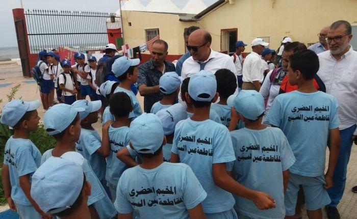 بالفيديو …500طفل يستفيدون من المخيم الحضري لعين السبع