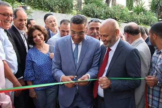 الميلودي المخارق يفتتح مقر الاتحاد المغربي للشغل بطنجة في حلته الجديدة بعد إعادة ترميمه