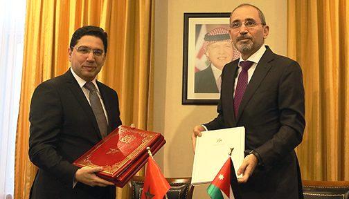 الأردن والمغرب يوقعان اتفاقية تعاون عسكري وتقني