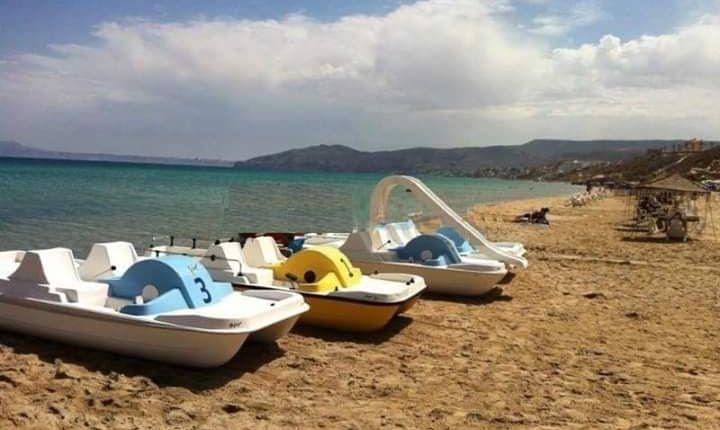 منع الدرجات المائية  الهوائية  بشاطئ بوزنيقة
