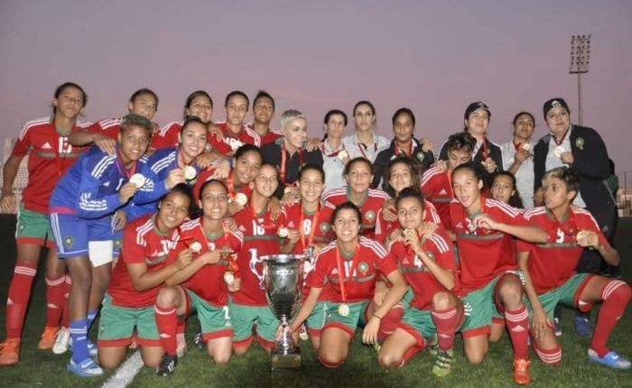 المنتخب الوطني لكرة القدم النسوية لأقل من 20 سنة يفوز بدورة اتحاد شمال إفريقيا