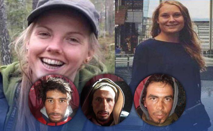 غدا جلسة أخرى في محاكمة المتهمين في جريمة السائحتين الاسكندنافيتين