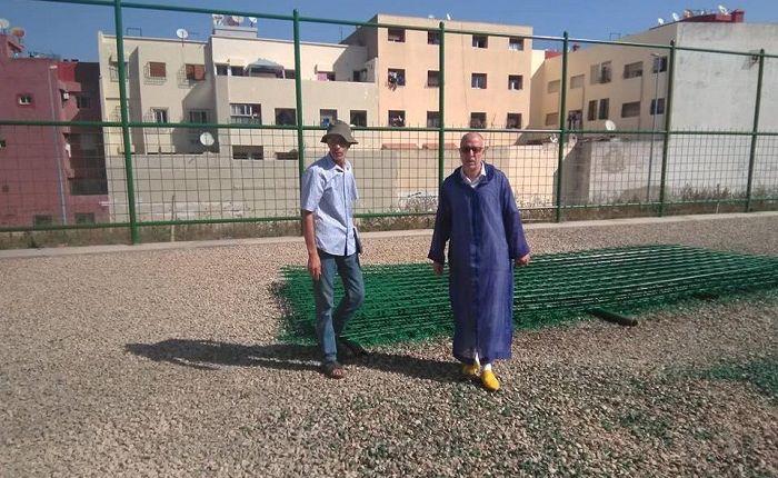 الدار البيضاء..ضبط أشخاص يكسرون اقفال ملعب ياسمينة وكرائه للفرق الرياضية