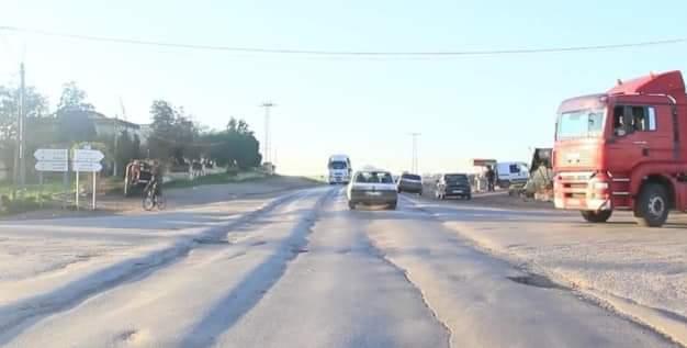 عامل إقليم برشيد يعطي انطلاق أشغال إصلاح طريق برشيد حد السوالم
