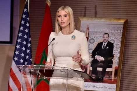 إيفانكا ترامب: لقد تشرفت بالتحدث إلى صاحب الجلالة الملك محمد السادس وأشكره على كرم ضيافته
