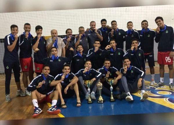 بداية حصد نتائج مشروع ثانوية الرياضيين… فريق فتيان كرة اليد يحصل على المرتبة الثالثة عربيا