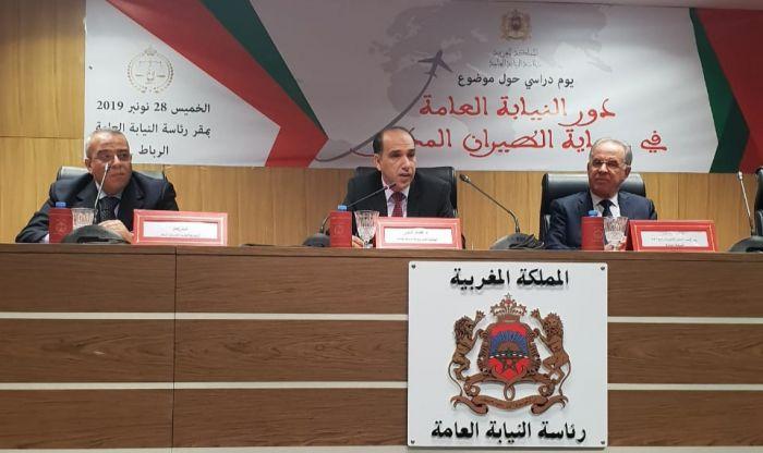 عبد النباوي : تحديات الطيران المدني التي أفرزتها التطورات التكنولوجية تنعكس على الجرائم وطرق تنفيذها