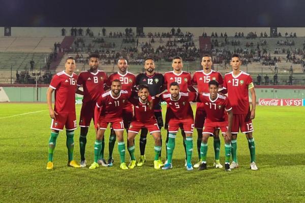 المنتخب المغربي للاعبين المحليين يفوز على نظيره الغيني بثلاثة أهداف لواحد