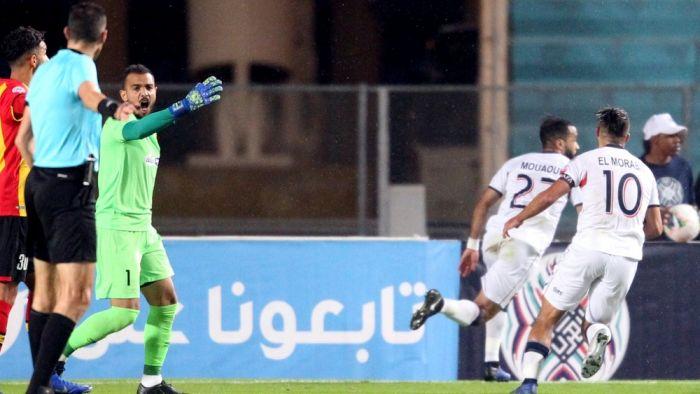 أولمبيك آسفي يقصي الترجي التونسي بكأس محمد السادس
