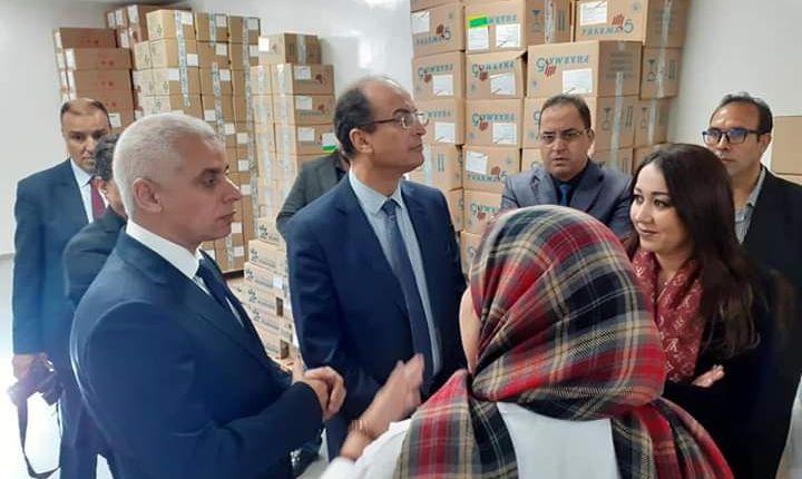 وزير الصحة يشرف على إعادة  افتتاح المركز الصحي الحضري ليساسفة