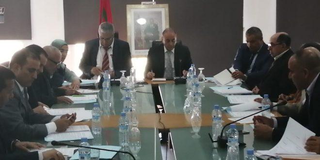 المجلس الإقليمي لبنسليمان يصادق على جميع نقط جدول أعمال الدورة الاستثنائية