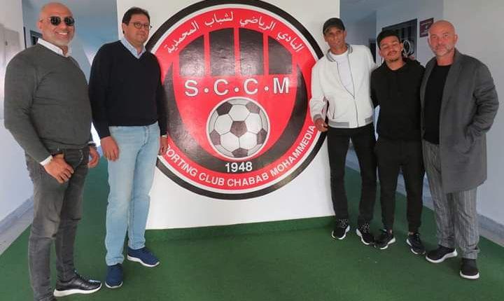 ريفالدو في زيارة عمل لفريق شباب المحمدية