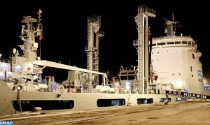 رسو سفينتن تابعتين للبحرية الباكستانية في ميناء الدار البيضاء