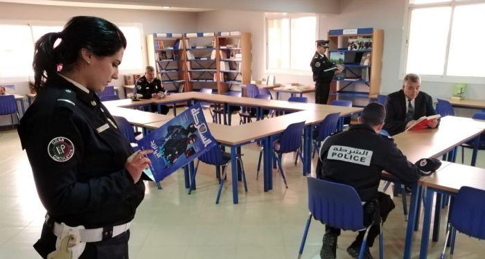 افتتاح مكتبة ولائية لفائدة موظفي الشرطة بوجدة