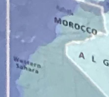 خريطة بالحرم الشريف تفصل بين المغرب وصحرائه تستفز المعتمرين المغاربة