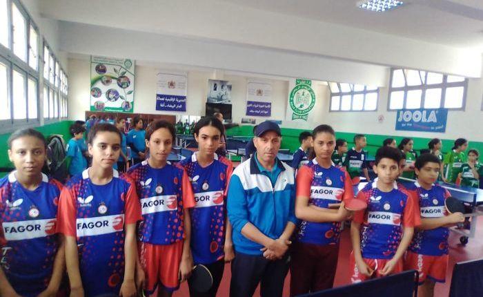 لاعبو جمعية زناتة ضمن المنتخب الوطني لكرة الطاولة