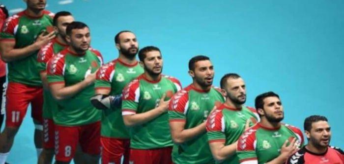 المنتخب الوطني المحلي لكرة اليد تجمع إعدادي بمدينة إفران