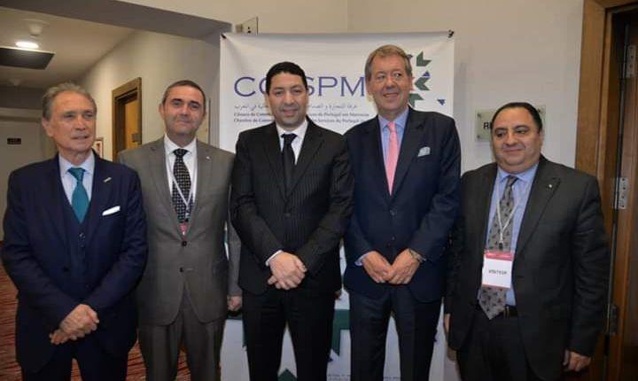 رئيس غرفة الصناعة والتجارة يشارك في أشغال منتدى الأعمال البرتغالي – المغربي