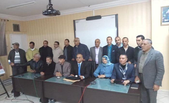 تجديد هياكل المكتب الاقليمي لجمعية تنمية التعاون المدرسي ببرشيد