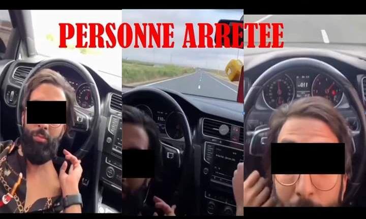 أمن البيضاء يعتقل شخصا ظهر في تسجيلات وهو يسوق سيارته بسرعة مفرطة