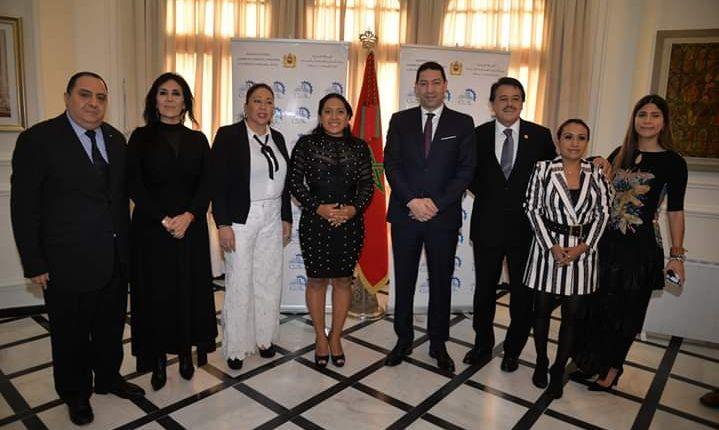 وفد برلماني مكسيكي  يزور غرفة التجارة والصناعة والخدمات للدار البيضاء – سطات