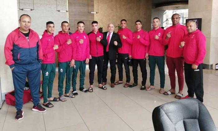 """المنتخب المغربي يحرز الرتبة الثالثة بالدوري الدولي للملاكمة """"أحمد كومرت"""""""