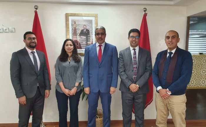 وزير الطاقة والمعادن والبيئة يستقبل حكومة الشباب الموازية