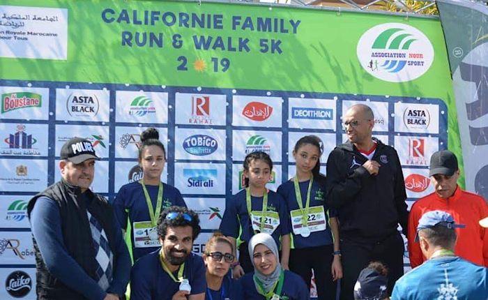 بمناسبة اليوم العالمي للمرأة..1000 مشارك في سباق كاليفورنيا العائلي بالدار البيضاء
