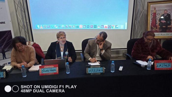 """""""نعمة للتنمية"""" تقدم """"دور السينما في محاربة العنف المبني على النوع""""لطلبة""""ISMAC  ومنتسبي منظمة بدائل"""