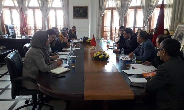 غرفة الصناعة والتجارة والخدمات تهيئ لخلق شباك المكتب المغربي للملكية الصناعية والتجارية.