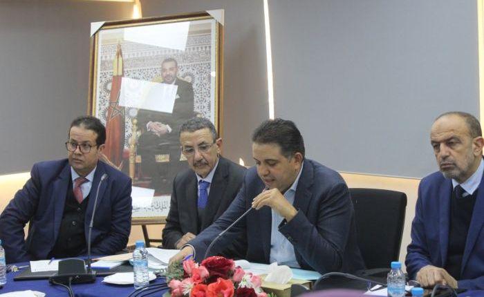 بالفيديو: مجلس مقاطعة مرس السلطان يعقد دورته لشهر يناير2020
