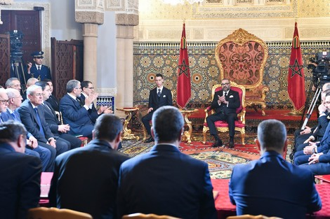 جلالة الملك يترأس حفل توقيع الاتفاقية الإطار لإنجاز البرنامج الوطني للتزويد بالماء الشروب ومياه السقي