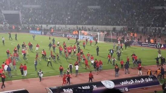 توقيف 13 شخصا على خلفية مباراة كرة القدم بين الجيش الملكي والرجاء البيضاوي