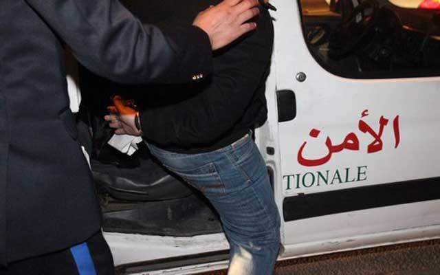 أمن مديونة يعتقل  سارق المستوصف الصحي