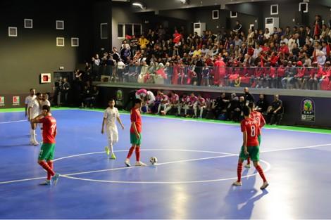 المنتخب الوطني لكرة القدم داخل القاعة يرتقي إلى المركز ال25 عالميا
