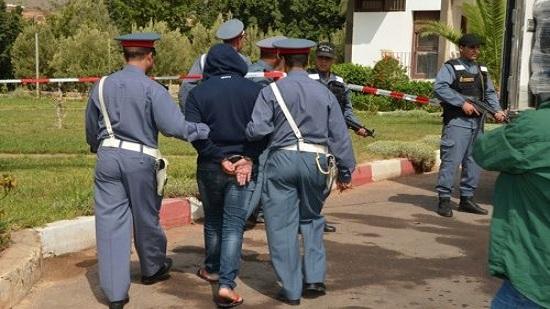 الدرك الملكي يكشف سلاح جريمة سيدي بنور