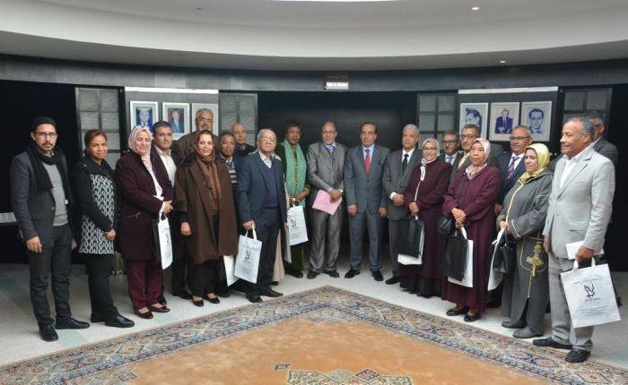 الوزير  عبيابة  يترأس حفل تكريم متقاعدي قطاع الاتصال المستفيدين من منحة أداء  مناسك العمرة
