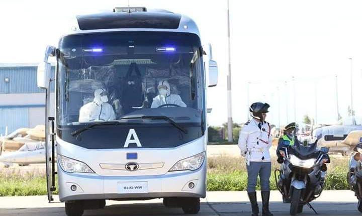مطار بنسليمان….خروج 167 راكبا بينهم 53 امرأة في اتجاه مدينة مكناس و الرباط