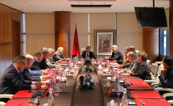 رئيس الحكومة يعقد اجتماعا مع رؤساء الأحزاب السياسية غير الممثلة في البرلمان