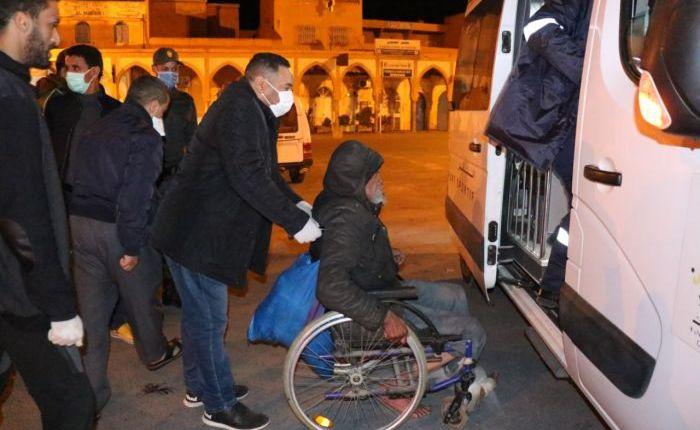عملية إيواء أشخاص بدون مأوى لا زالت مستمرة عبر مختلف مدن المملكة