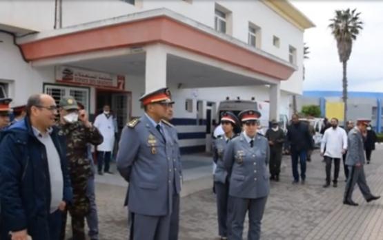 توسيعا للعرض الصحي فريق طبي عسكري يحل بمستشفى الحسن الثاني بسطات.
