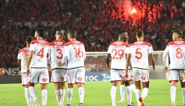 الوداديعود من تونس ببطاقة التأهل إلى نصف نهاية عصبة الأبطال الافريقية