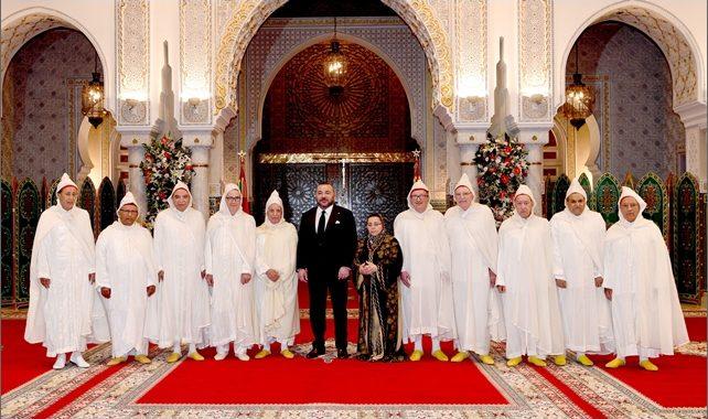 الملك محمد السادس يستقبل بالدارالبيضاء الأعضاء الأربعة المعينين بالمحكمة الدستورية