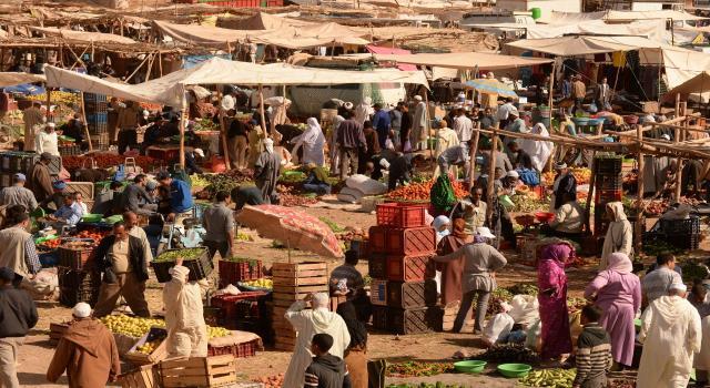 جائحة كورونا:سلطات البيضاء توقف الأسواق القروية الأسبوعية