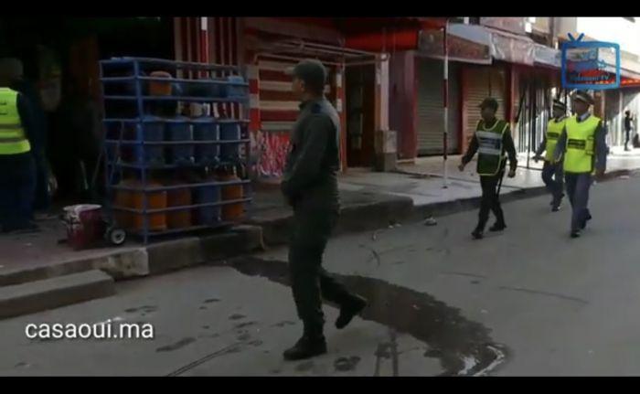 هكذا تتم إجراءات تطبيق حالة الطوارئ الصحية بجماعة  لهراويين(فيديو)